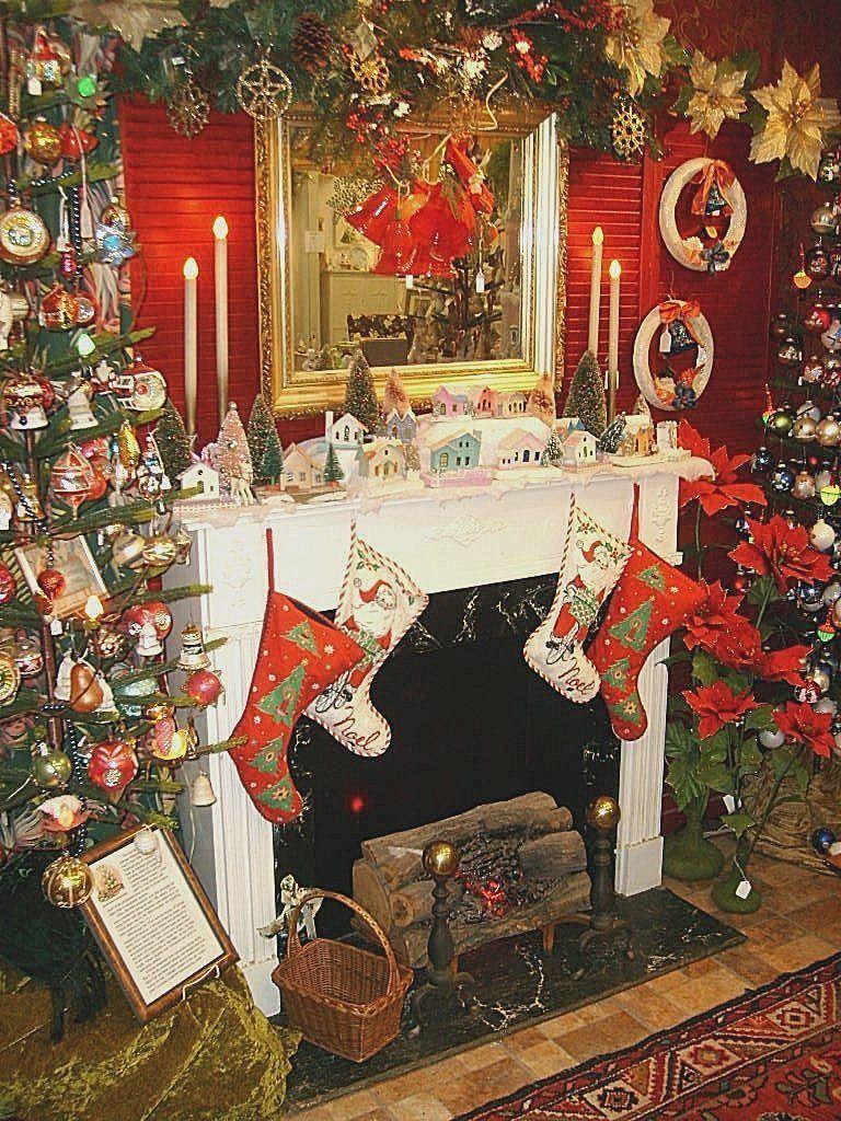 Christmas nostalgia vintage antique ornaments