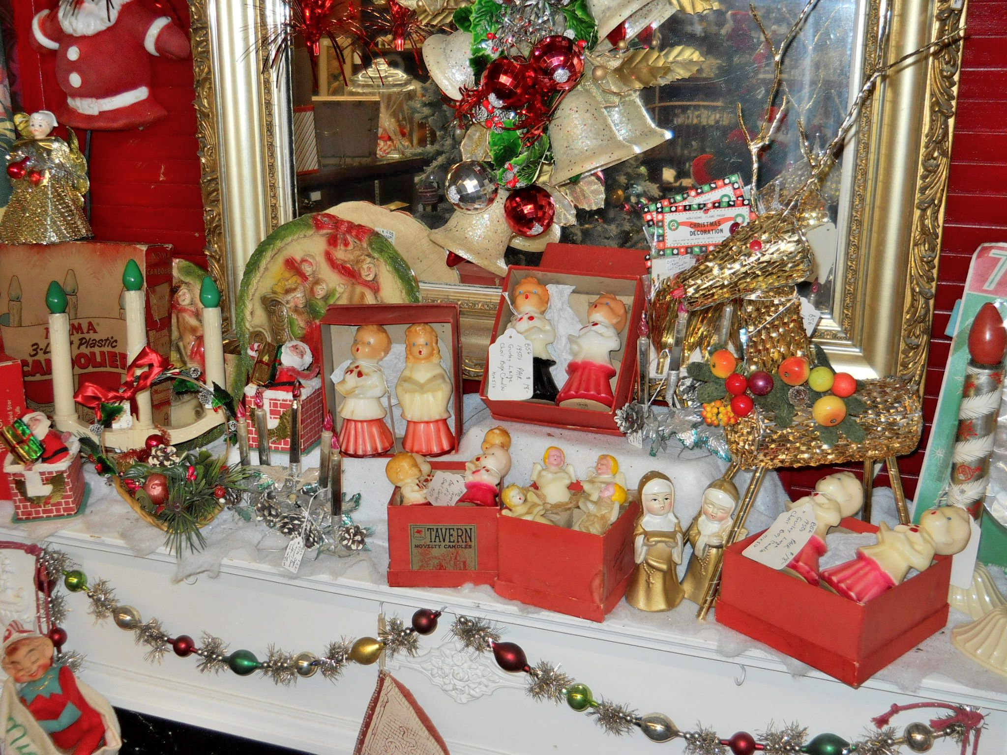 Antique Christmas Decorations